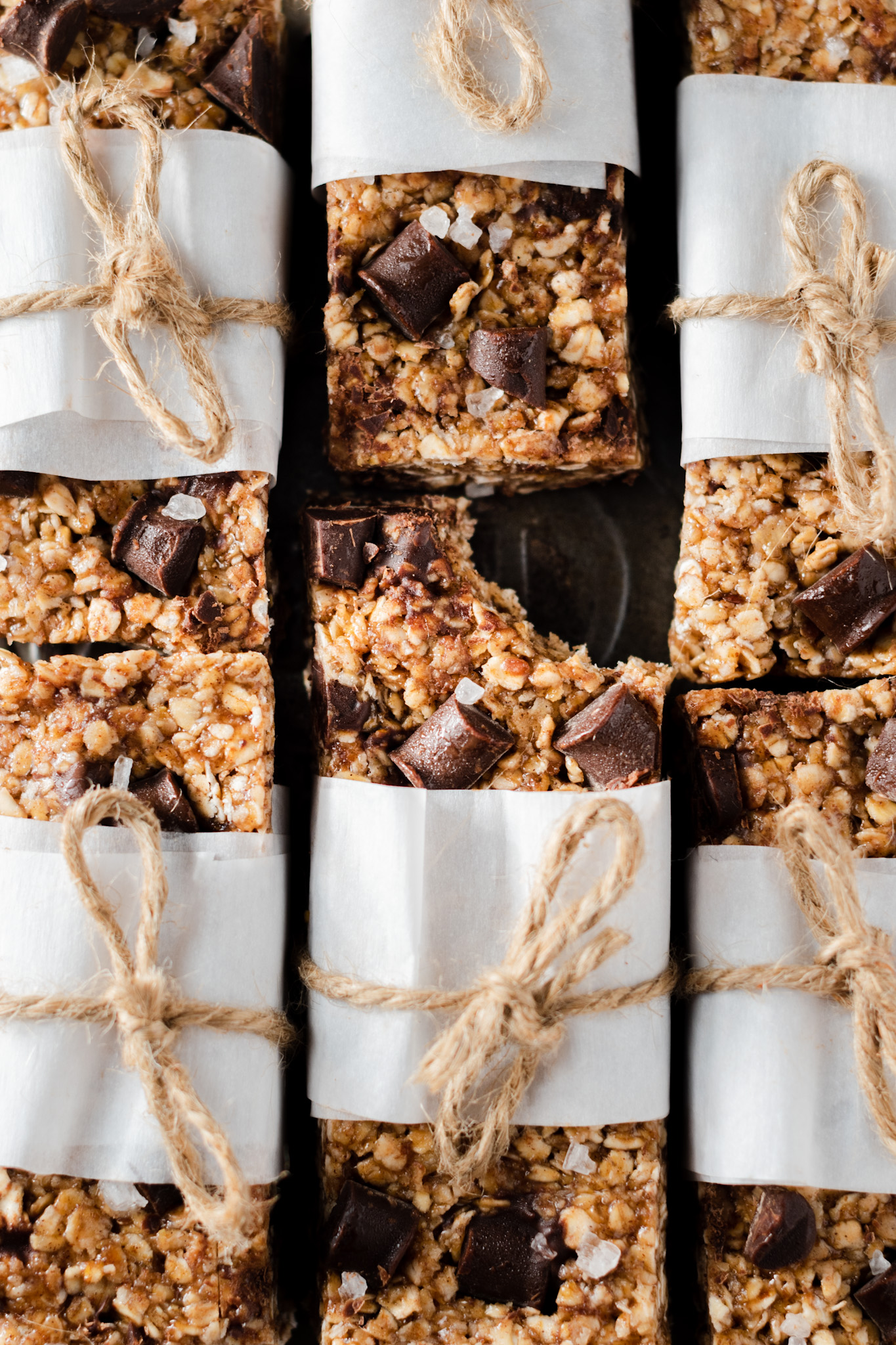 6 Ingredient Gluten Free Granola Bars