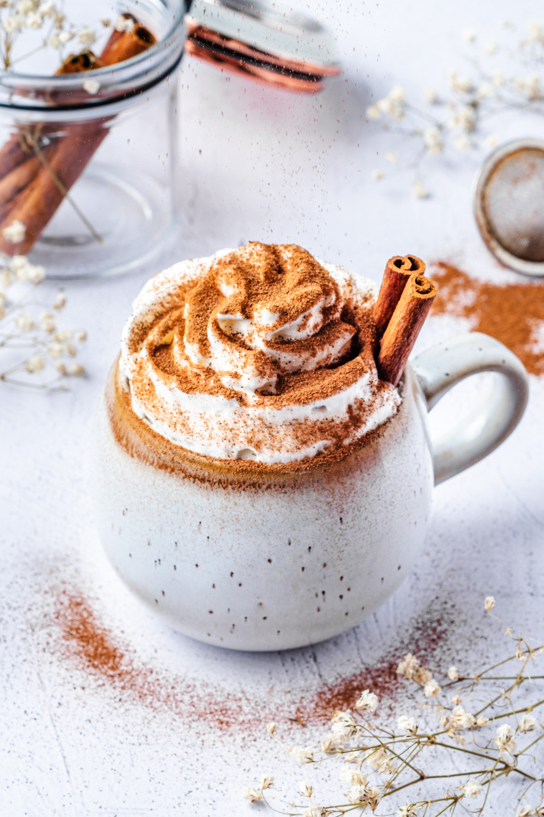 Healthy Dairy Free Protein Hot Chocolate